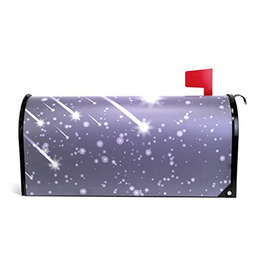 Alaza(mailbox cover) Flying Meteors Magnetische Briefkasten-Abdeckung, Standardgröße, 45,7 x 50,8 cm 20.8x18 inch Standard Size Multi