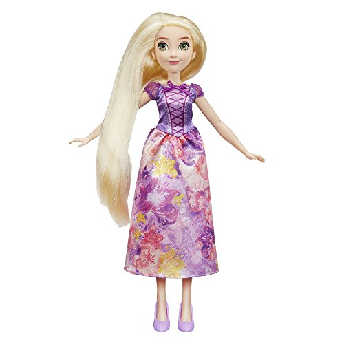 Disney Princess-E0273ES2 Rapunzel Brillo Real, Multicolor. (Hasbro E0273ES2)