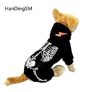 Cravate Langxian Halloween, Noël, Vêtements pour Animal Domestique, Animal Domestique Vêtements Lumineux Dinosaure, Pet Vêtements pour Chiens