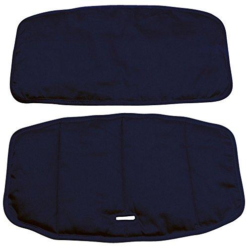 クッション ベビーチェア用 チェアシート 幅41×奥行23cm ネイビー