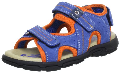 Romika Jungen Mike Sandalen, Blau (blau-orange 568), 25 EU