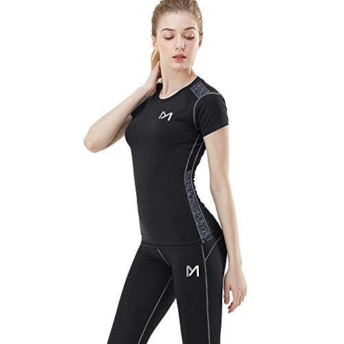1.Libertà di movimento e prevenzione della deformazione: Le donna leggings sport è stato progettato con 86% poliestere e 14% spandex, offre un eccellente comfort e una gamma completa di movimento per allungare il muscolo, proteggendo il muscolo duran...