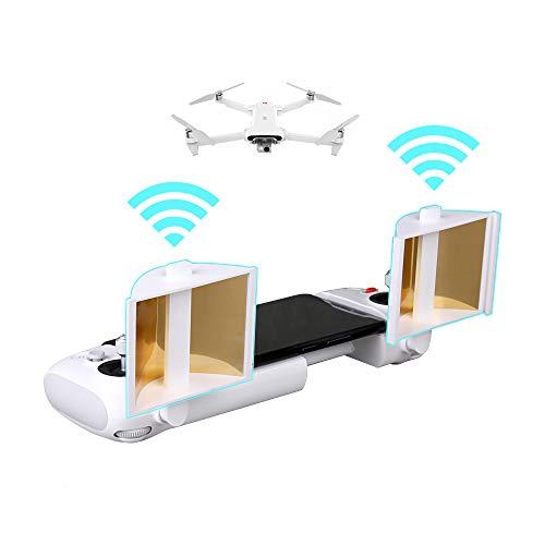 Hensych Telecomando Antenna Amplificatore del Segnale Range Extender per FIMI X8 SE Drone,95% di riflettanza