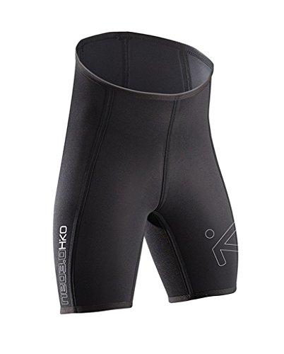 Hiko Neopren Short Hose 3mm Sitzform Wassersport Kanu Kajak Canadier, L, Schwarz