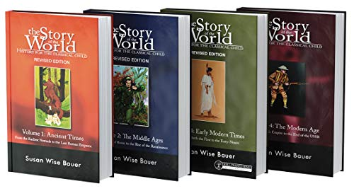 Story of the World, Text Bundle Hardcover: History for the Classical Child: Ancient Times through The Modern Age (Story of the World)