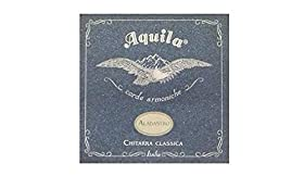 Cuerdas Guitarra Clásica Sets Alabastro Juego de Cuerdas 19C Aquila Alabastro Tension Normal