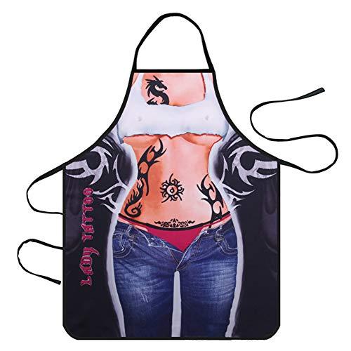 Openg Mandil Cocina Mujer Delantales Lavable Delantal Mens Delantal Delantal de Las Mujeres Delantal para Las Mujeres Mens Delantal de Cocina 13