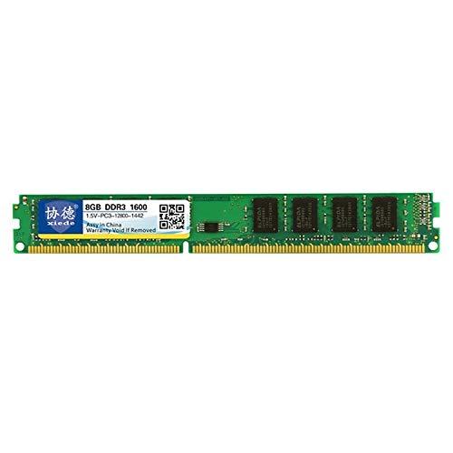MKOKO DDR3 1600MHz 8GB 1.5V Allgemein Volle Kompatibilität Arbeitsspeicher RAM-Modul for Desktop-PC schnell Dauerhaft