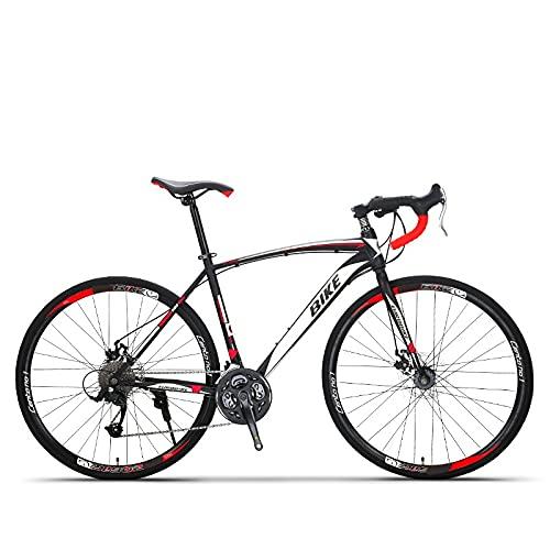Juventud / adulto 27-velocidad viento roto habló ruedas multifuncional bicicleta de montaña, suspensión delantera de la bicicleta de montaña, colores múltiples, pedales de resina antideslizante, marco