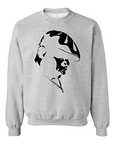 BakoIsland Biggie Stencil Artwork Unisex Sweatshirt Sweater Jumper Small