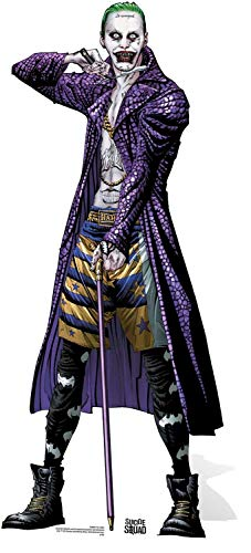 dc comics Star découpes Sc889 Le Joker Gotham Super-Vilain Comic Art Carton découpé