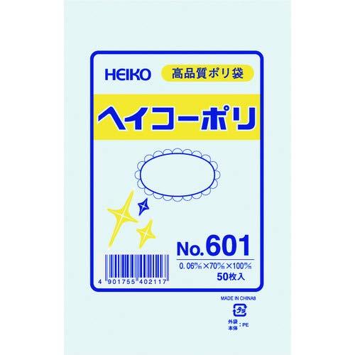 シモジマ HEIKO ポリ規格袋ヘイコーポリNo.601紐なし 006619100