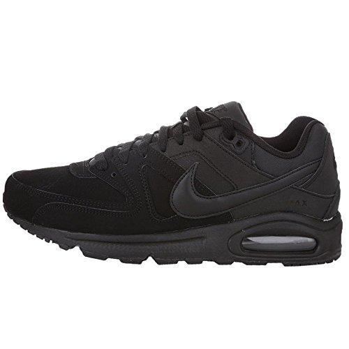 Nike Air Max Command Leather Scarpe da ginnastica, Uomo, Nero (Black/Black Anthracite), 40 1/2