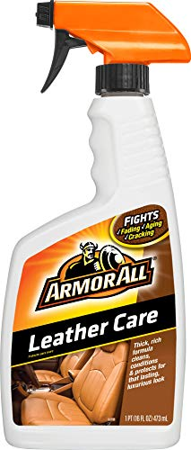 Armor All Car Leather Care Spray Bottle, Cleaner for Cars, Truck, Motorcycle, 16 Fl Oz, 78175