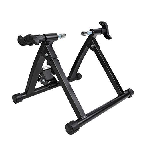 WAWZNN Fahrradtrainer Ständer Bike Magnetic Turbo Trainer für Indoor Cycling Training Geeignet für 26 in Mountainbike / 700c Rennrad