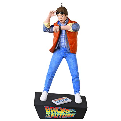 Hallmark Keepsake Christmas Ornament 2020, Back to the Future Marty McFly With Sound