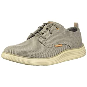 Skechers Men's Status 2.0-Menic Canvas Oxford