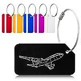 EtichettePerValigie, Viaggio Luggage ID Tag Per Valigia Bagaglio Zaini Borsa, 6 Colori