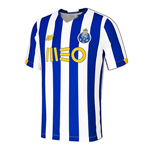 New Balance FC Porto Home SS Jersey Camiseta Réplica Home Fcp para Hombre, Hombre, Azul, 2XL