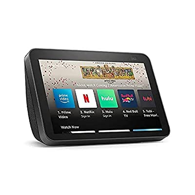 All-new Echo Show 8 (2nd Gen, 2021 release)   HD smart display with Alexa and 13 MP camera   Charcoal by Amazon
