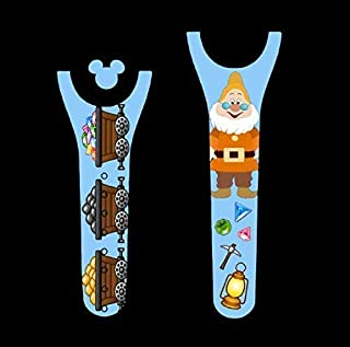 Vinyl Skin Decal Wrap Sticker Cover for the MagicBand 2 Magic Band 2 Dwarfs Doctor Mining Themed