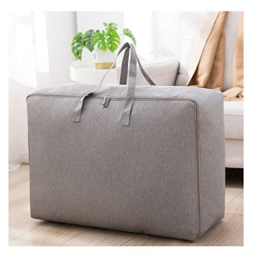Bolsa de almacenamiento a prueba de agua ahorro de espacio Almohada de equipaje de mano en movimiento de la ropa del armario de almacenamiento organizador de viajes de Carga de lona Jumbo Bolsas
