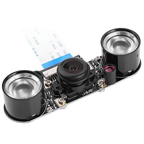 Kamera Modul für Raspberry Pi,HD 1080p Camera Module 5MP Fisheye 160 Grad Weitwinkel Kamera,Professionell 1/4 Zoll CCD Kameramodul mit Nachtsicht für Alle Raspberry Pi Modelle