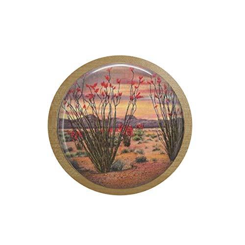 Ocotillo Kaktus-Brosche – Wüstenbrosche – Kaktus-Brosche – Old American West Schmuck – Ocotillo Jewelry.Icebox Aufkleber, Tafel-Aufkleber, Zitat Anhänger, Christliche Insektenkunst Kühlschrank