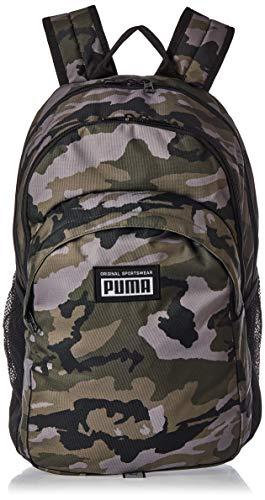 PUMHB PUMA Academy Backpack Zaino, Unisex – Adulto, Forest Night-Camo AOP, Taglia unica