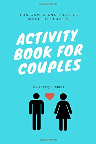 Activity Book for Couples: Fun Games and Puzzles Made for Lovers