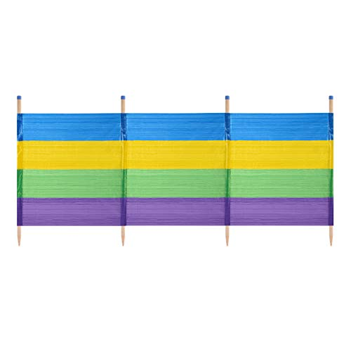 Yello Unisex 4Grueso Rayas Cortavientos, Multicolor, 4Pole
