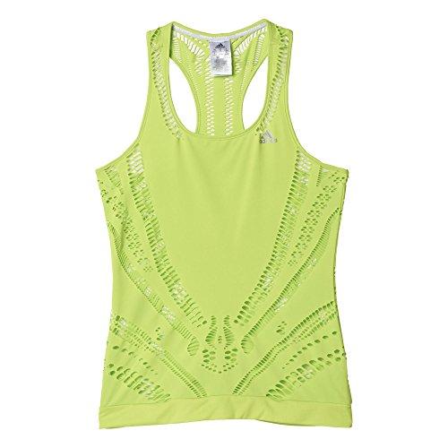 adidas Damen T-shirt CLIMACOOL TNK W Oberbekleidung, grün, M