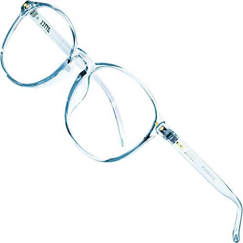 ATTCL Unisex blaulichtfilter brille computerbrille zum Blockieren von UV-Kopfschmerz [Verringerung der Augenbelastung] Gaming Brille (Blau 1133