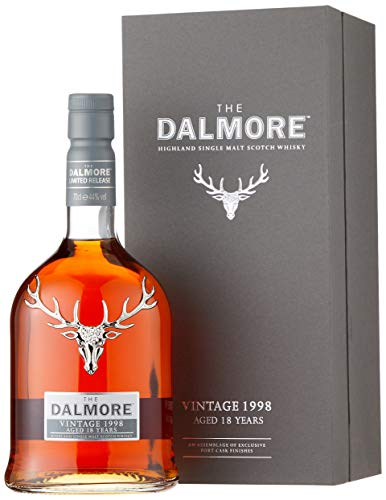 Dalmore 18 Years Old Vintage mit Geschenkverpackung 1998 (1 x 0.7 l)