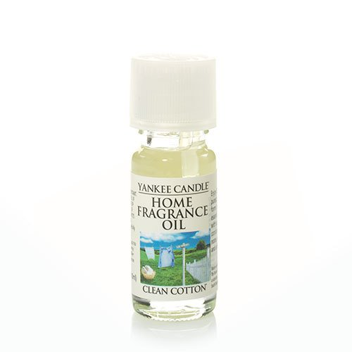Yankee Candle Clean Cotton Fragrance Oil, Fresh Scent