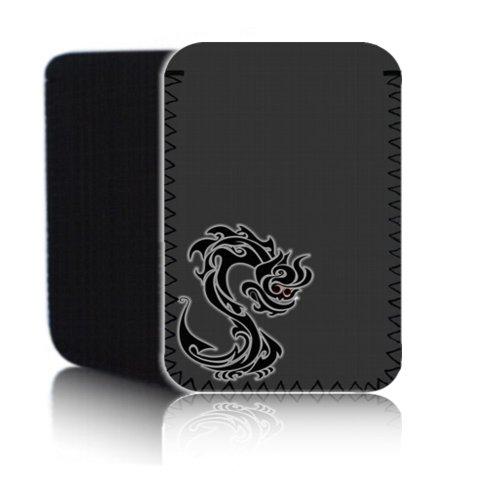 BIZEBEETAB Biz-E-Bee Chinese Dragon 7HD 'grau Neopren Tasche für Der 17,8cm Allwinner A13Android Tablet–Stoßfest/wasserabweisend Neopren Abdeckung, Hülle, Tasche,–UK