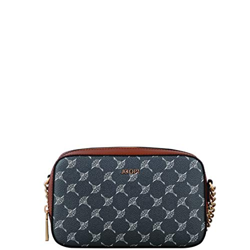 Joop! Damen Cortina Lusso Cloe Shoulderbag Xshz Schultertasche, Grau (Darkgrey), 12.5x6x21 cm