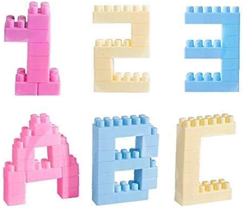 QNDYDB Intelligenzaufklrung for Die Frühe BildungZauber Einfügen Kunststoff Kinder Bausteine Spielzeug Montiert Baby Jungen Mdchen 1-4 Jahre Alt 220 Blcke (Farbe   300Piece)