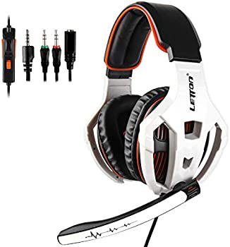 Letton Xbox One, PS4, PS5 3.5mm Over Ear Gaming Headset