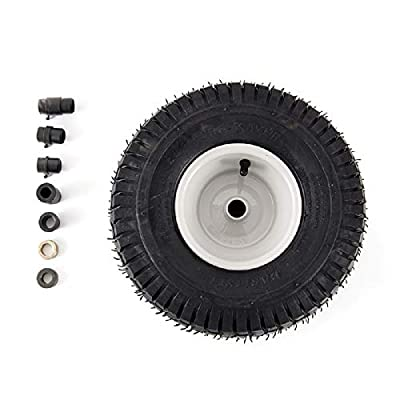 Arnold 490-325-0012 Universal 15-Inch Lawn Mower Front Wheel