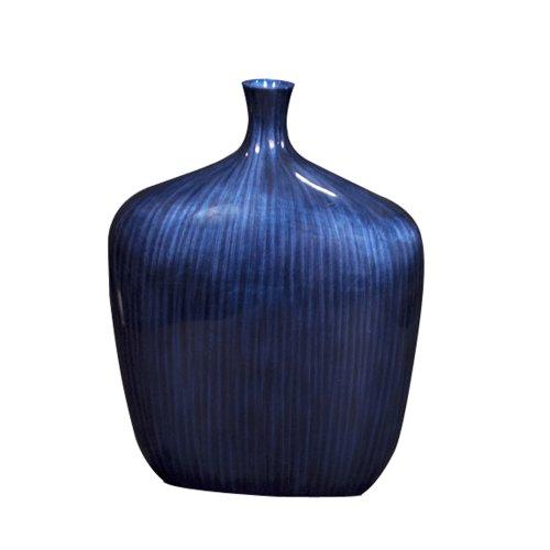 Howard Elliott 22076M Sleek Vase, Medium, Kobaltblau