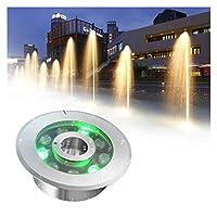 LED水中スポットライト 防水IP68 304ステンレス鋼 噴水スポットライト スイミングプール用 噴水池 ウォーターガーデン水族館 ALGWXQ (Color : C, Size : 9W)