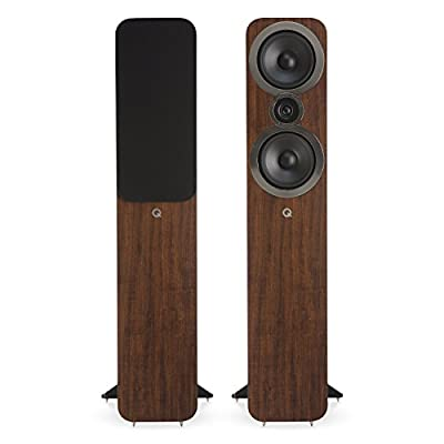 Q Acoustics 3050i Floorstanding Speakers (Pair) (English Walnut) by Q Acoustics
