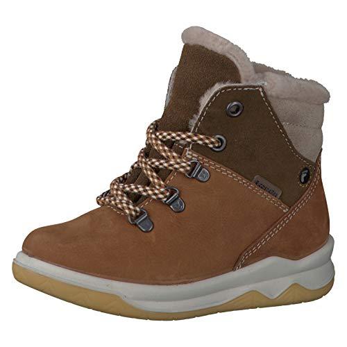 RICOSTA Pepino Jungen Winterstiefel Toni, WMS: Mittel, wasserfest, Spielen Freizeit leger Winter-Boots gefüttert warm,Curry/Hazel,33 EU / 1 UK