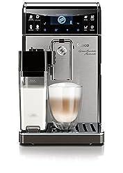 Saeco HD8967 / 01 GranBaristo (Avanti coffee machine, app control, integrated milk carafe) silver