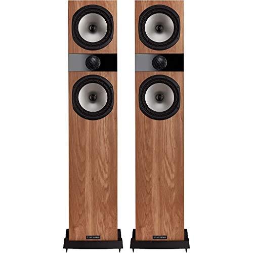 Fyne Audio F303 - Altoparlanti da pavimento, in legno di quercia