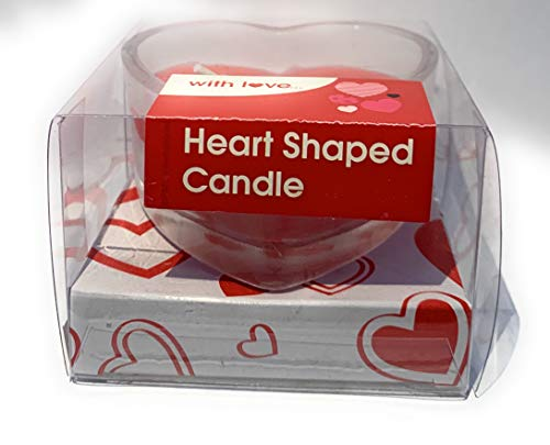 PMS Heart Shaped Candle Scented