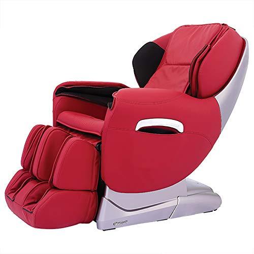 RoboTouch Maxima Luxury Full Body Zero Gravity Massage Chair (Rose Red)