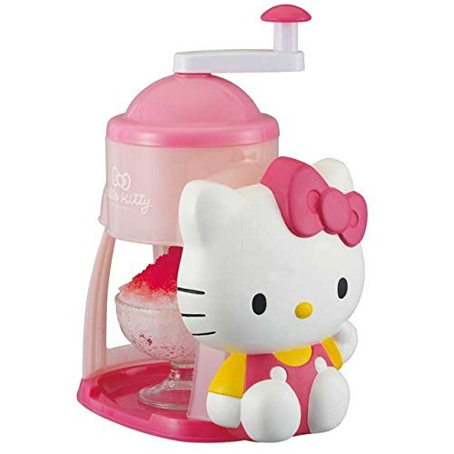 Best Review Of Hello Kitty shaved ice topped with flavored syrup Machine