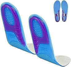 Envelop Massaging Gel Insoles - Orthotic Arch Support Shoe Inserts for Women, Men, Plantar Fasciitis, Flat Feet, Tennis, Running, Heels, High Arches, Walking, Comfort, Foot Pain, Work Boots - Unisex
